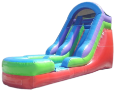 15' BACKYARD SLIDE WET OR DRY