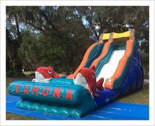 19FT BIG KAHUNA SLIDE WET/DRY