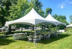 20' x 40' TENT PACKAGEIncludes 12 Tables and 80 Chairs