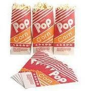 Popcorn Supplies - 50 ServingsINCLUDES POPCORN KIT AND BAGS