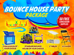 1 BOUNCE HOUSE PARTY PACKAGE