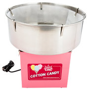 Cotton Candy Machine -Tabletop with 50 Free ServingsINCLUDES A CLEAR BUBBLE TOP