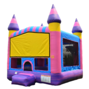 "CUSTOM PINK MARBLE BOUNCE HOUSEClick ""More Info"" For Additional Themes"