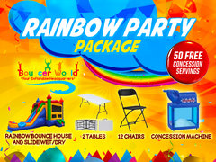 RAINBOW PARTY PACKAGE
