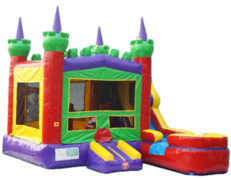 "CUSTOM THEME ROYAL CASTLE BOUNCE SLIDE COMBOClick ""More Info"" For Additional Themes"