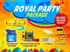 ROYAL PARTY PACKAGE
