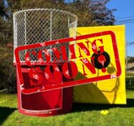 1 DUNK TANK - DUNKING BOOTH Add-On for only $129***Available Spring 2021***