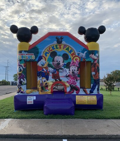 Mickey Mouse Bounce House Rental Dallas TX