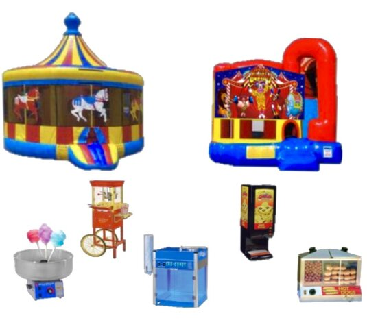 Inflatable Packages from Bounce Universe Party Rentals in Dallas TX