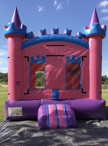 Pink Bounce House Rental Mesquite TX