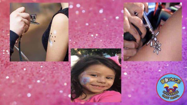 Airbrush Tattoo Rental Dallas TX