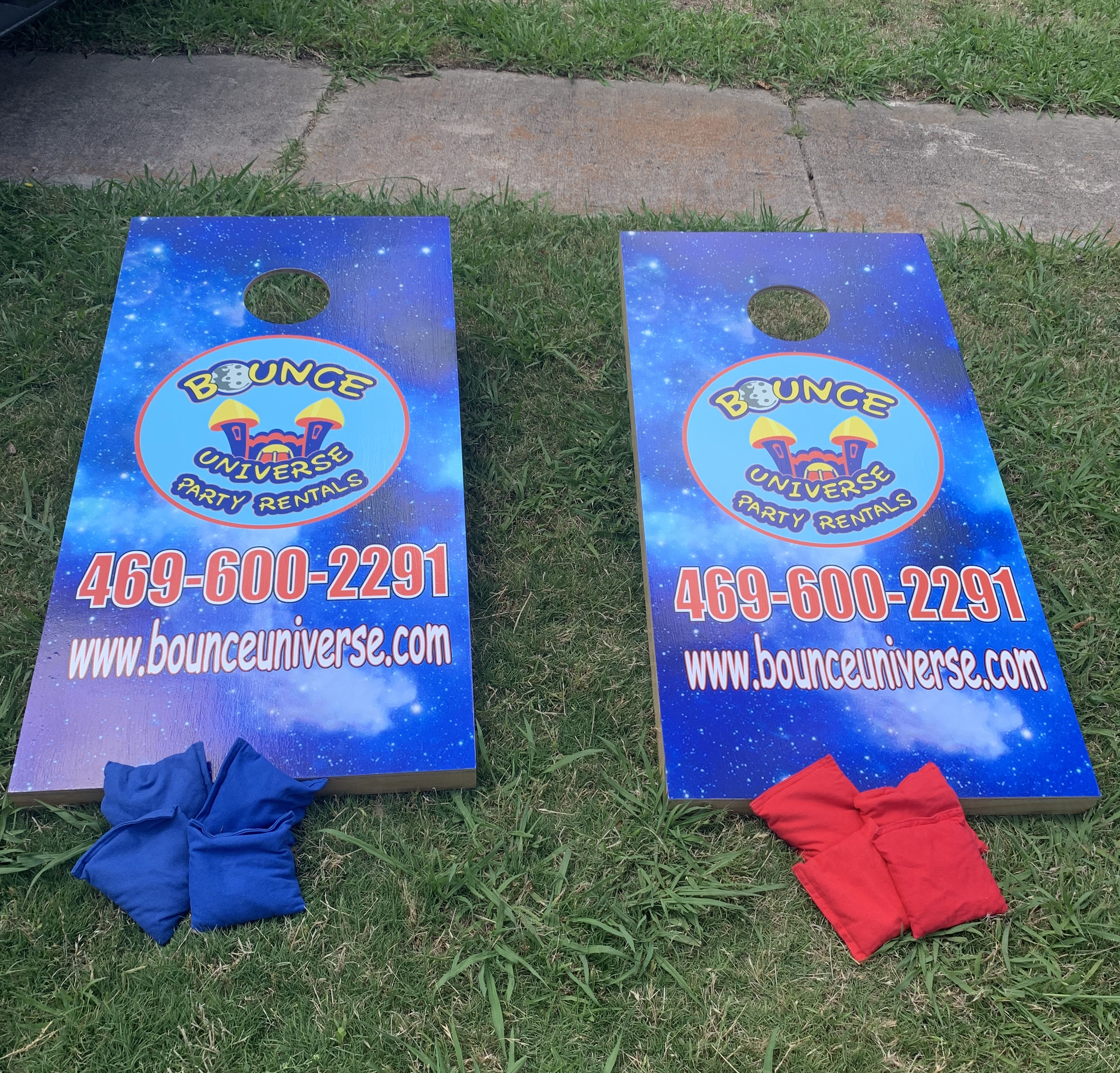 Corn Hole Game Rental Dallas TX