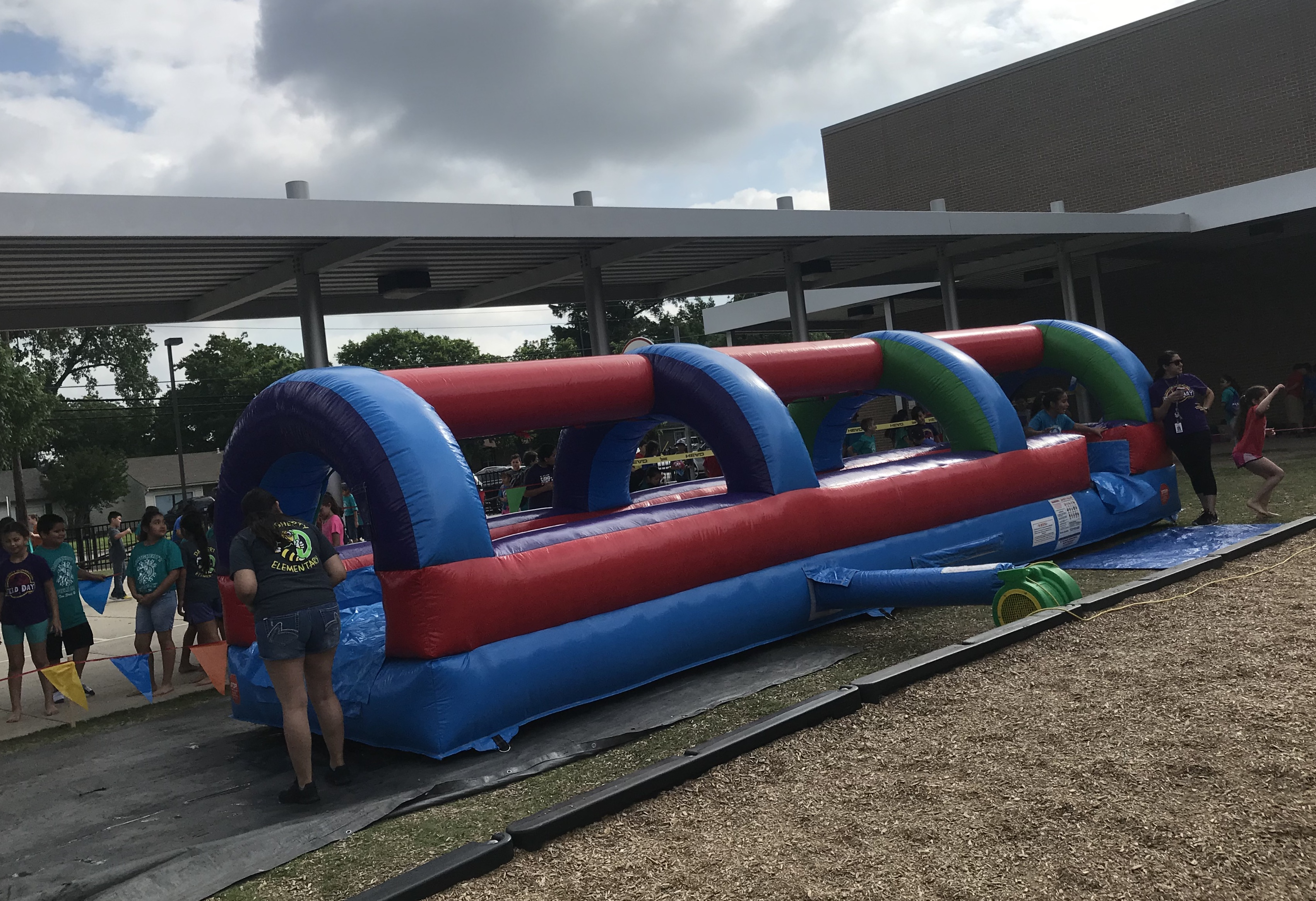 Single lane slip and slide rental Dallas TX