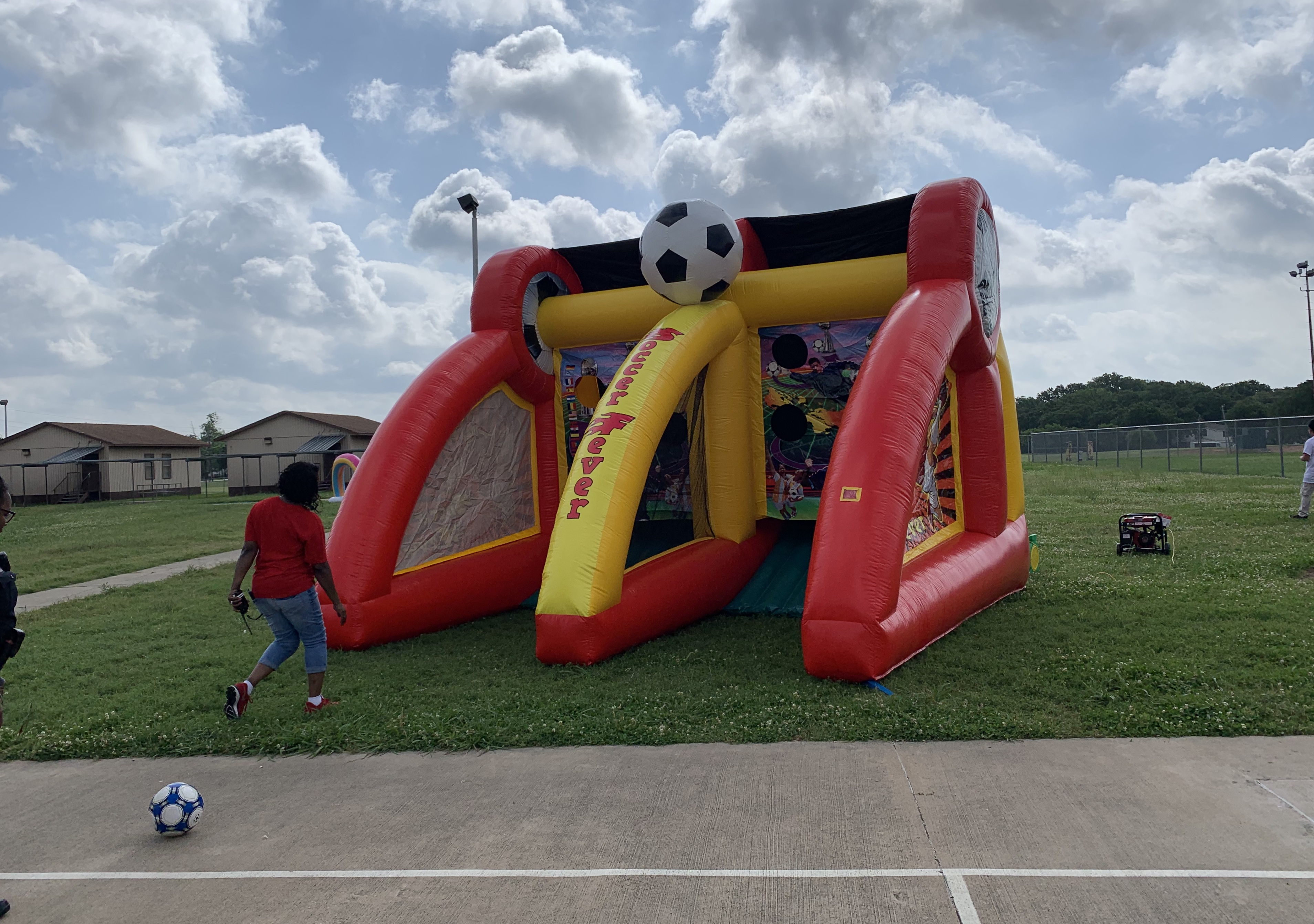 Inflatable Soccer Game Rental Dallas TX