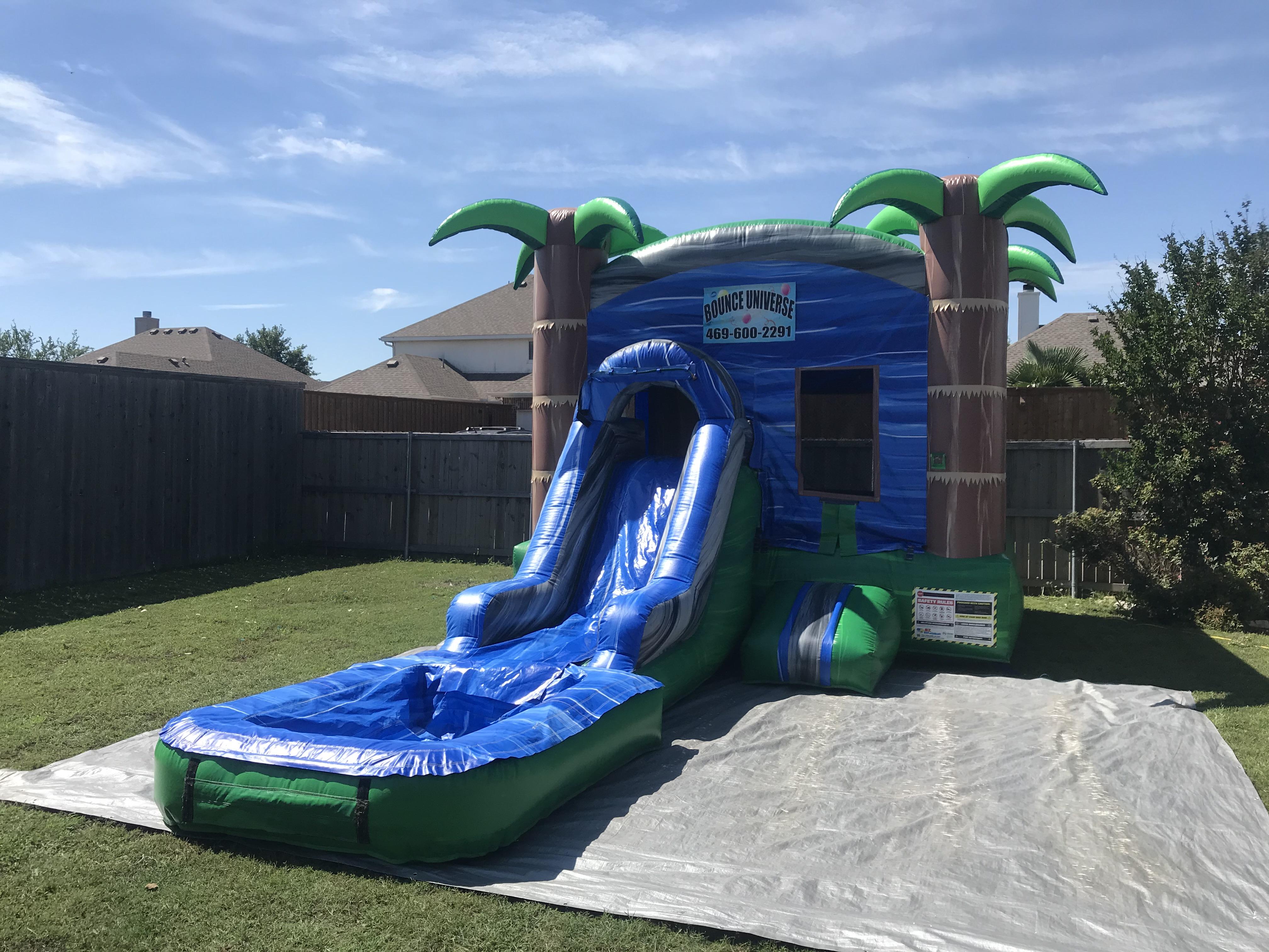 Tropical Island Wet Combo Rental Dallas TX