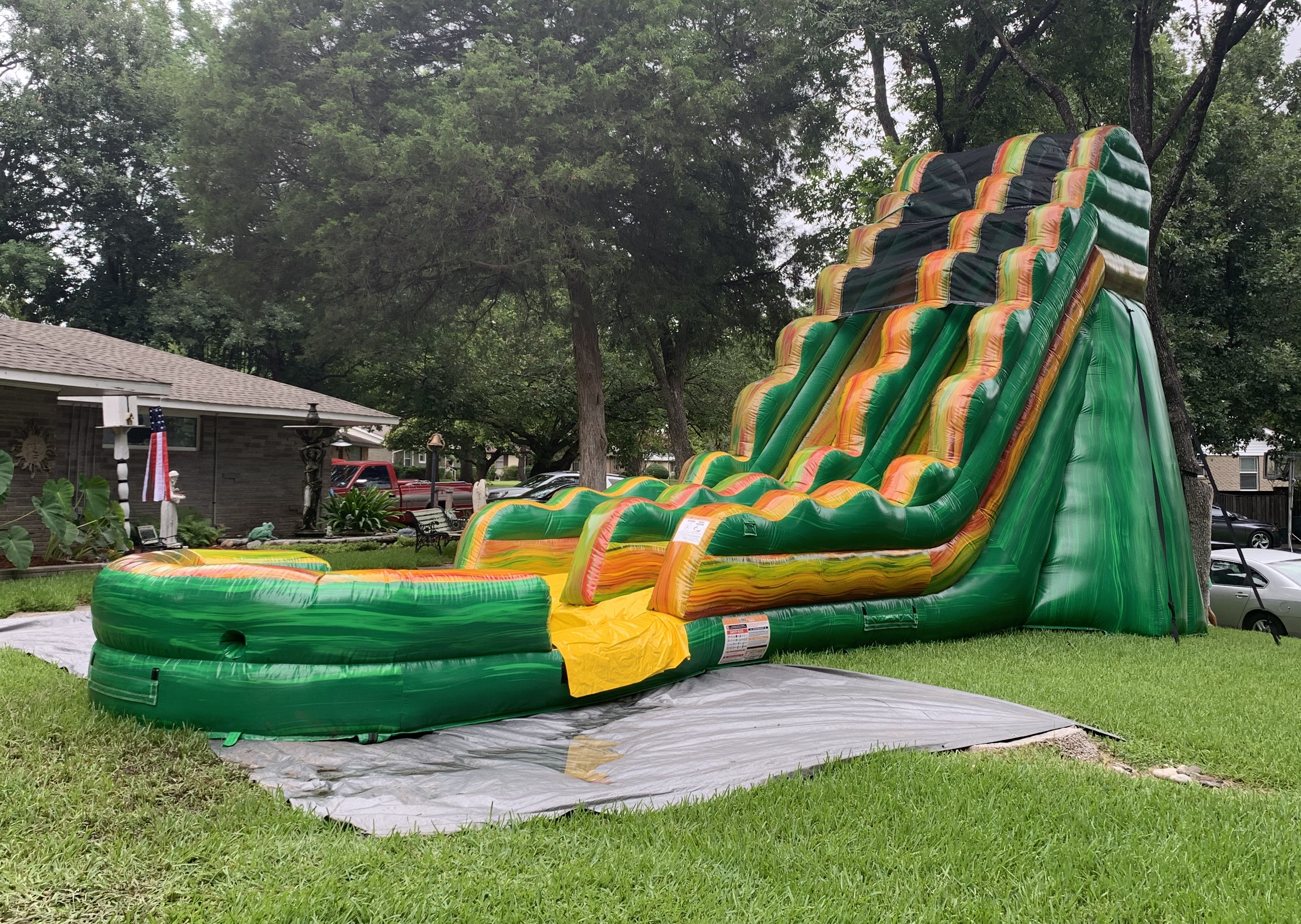 water slide rentals Dallas TX