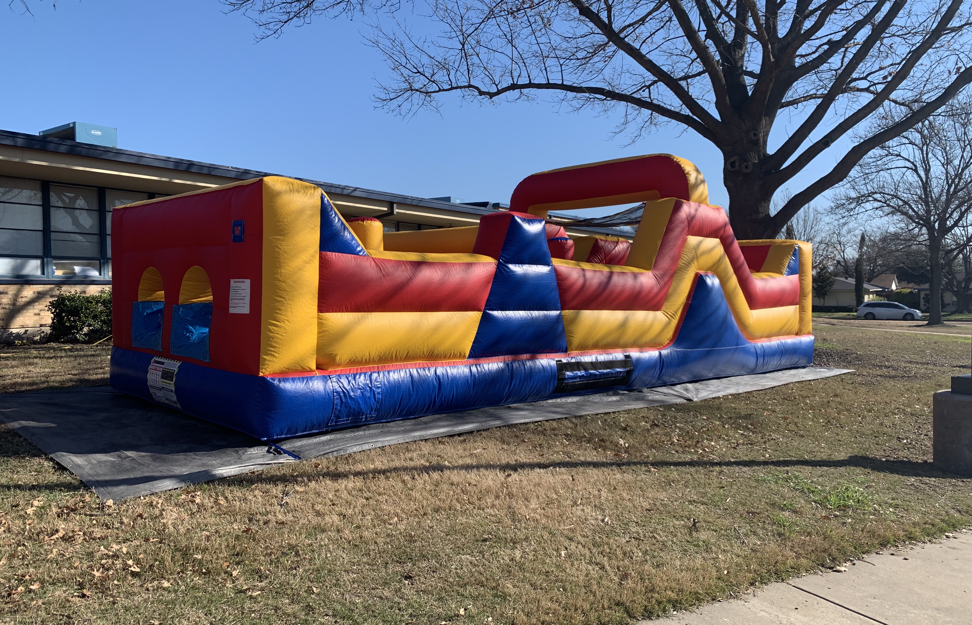 obstacle course rental dallas