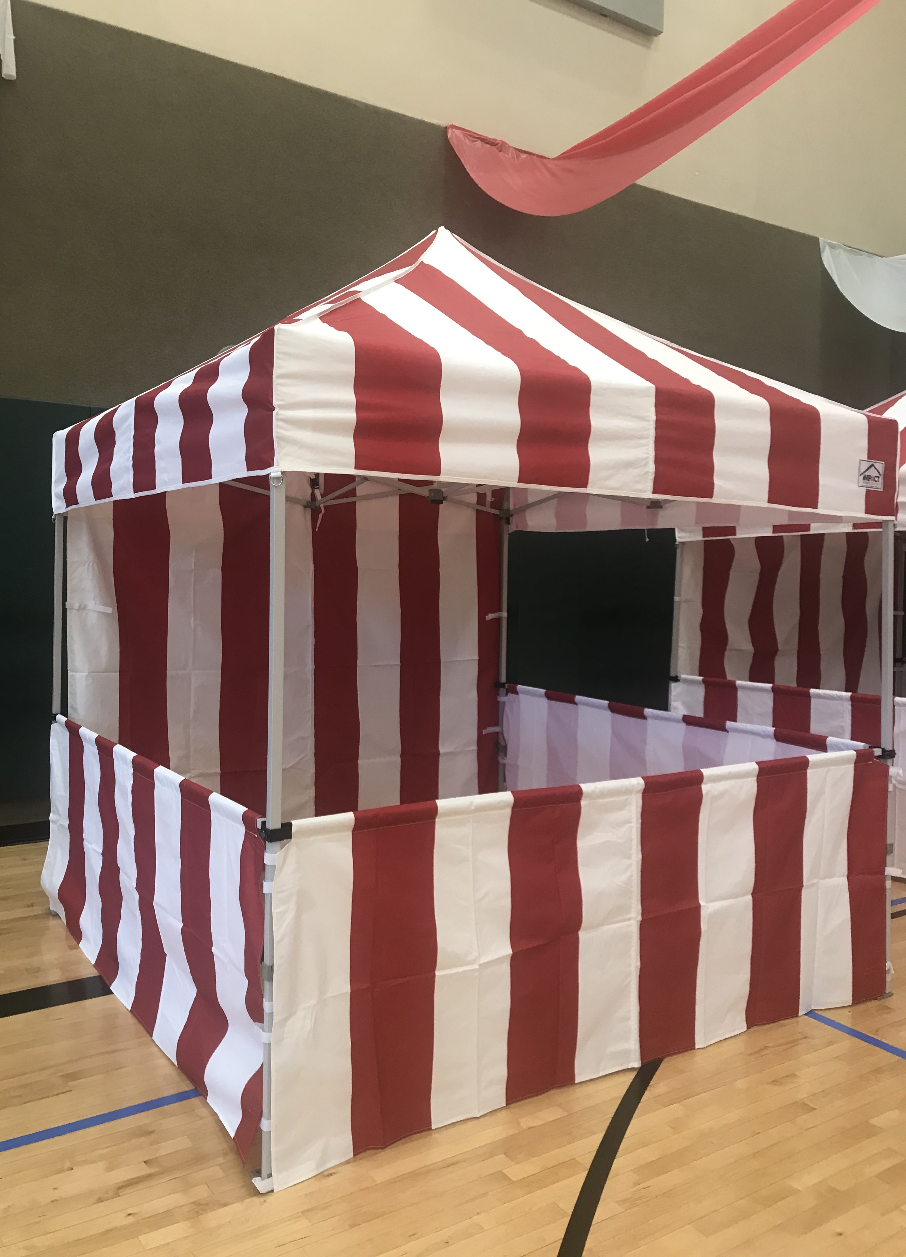 8 X 8 Carnival Canopy Bounce Universe Party Rentals Llc