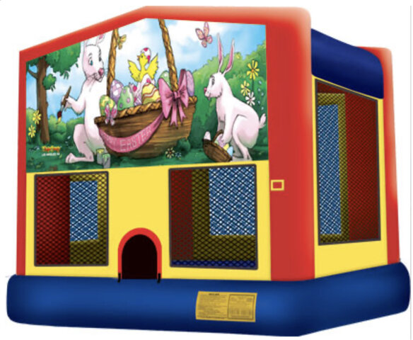 Easter Theme Module Bounce House Rental