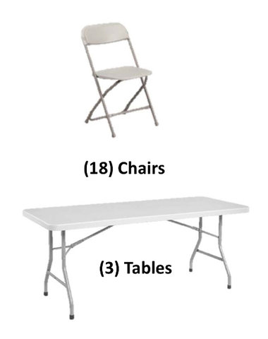 Table and Chair Deal