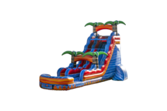 20' Tropical Inferno Water Slide Rental