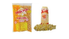 Additional Popcorn Supplies (serves 50)