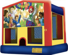 Module Bounce House Celebrate Banner