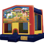 Unicorn Theme Module Bounce House