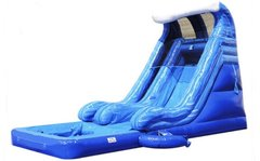 18' Tidal Wave Water Slide