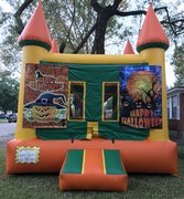 Halloween Theme Bounce House
