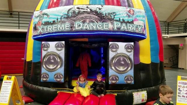 Dance Dome bounce house