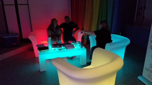 LED party furniture rental