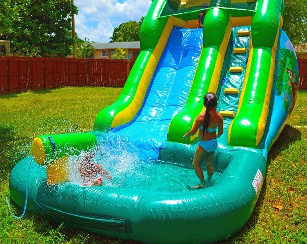 Safari Water Slide rental