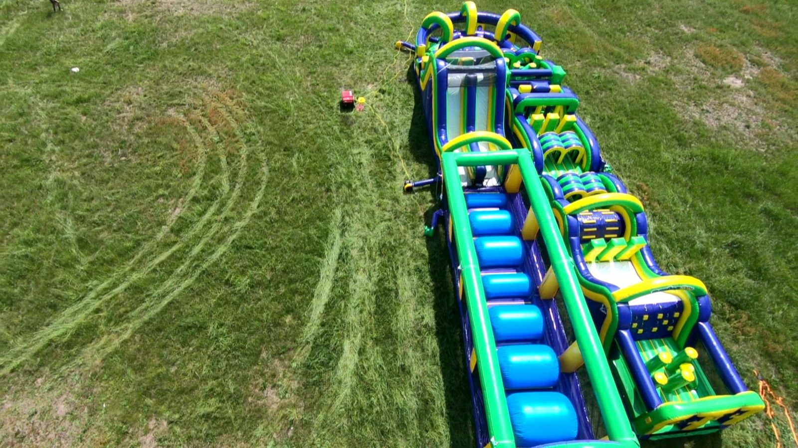 Radical run full 5 piece obstacle course