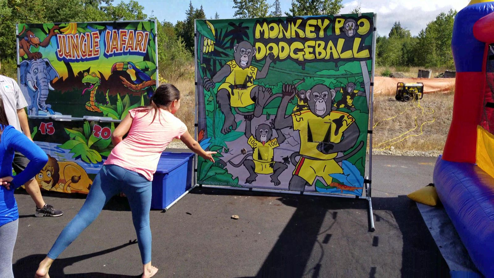 Monkey Poo Dodge Ball