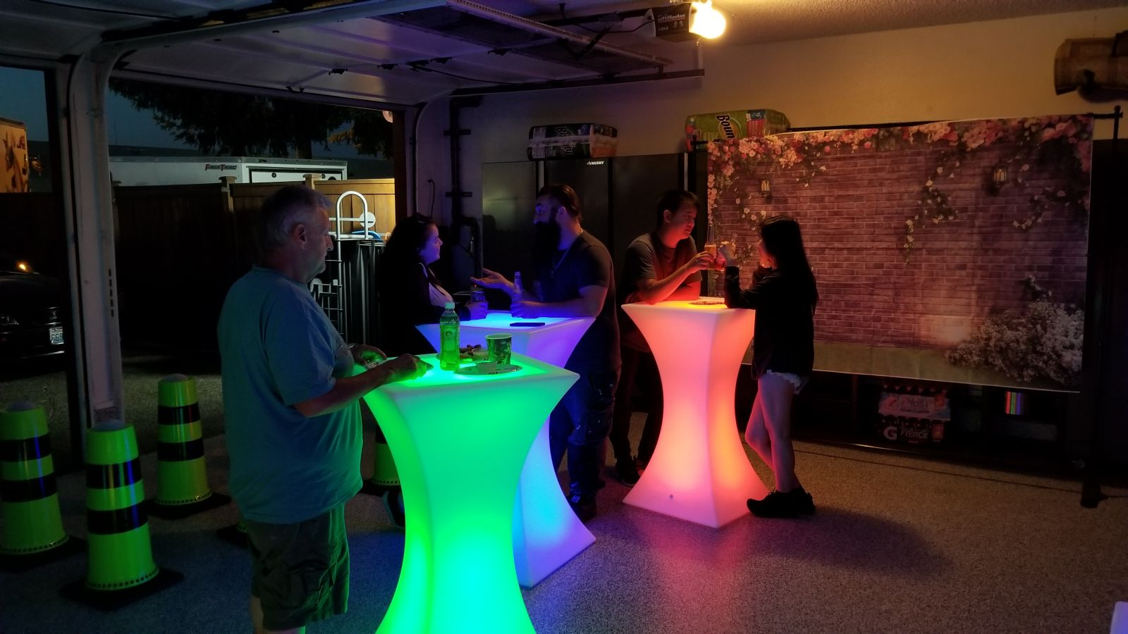 LED Cocktail Tables