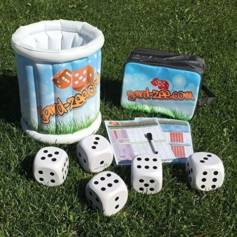 Giant Yard-zee Dice Game