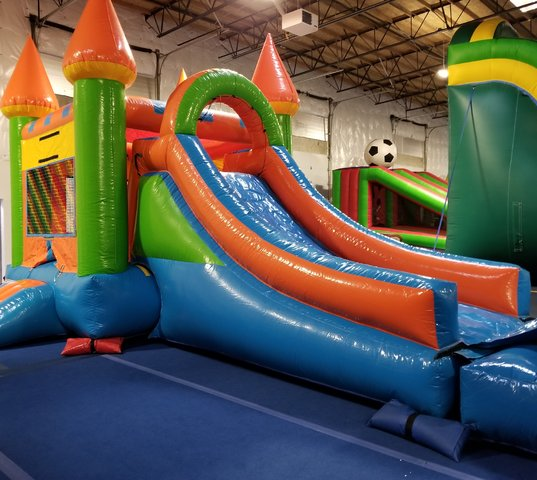 Kids Castle Slide Combo