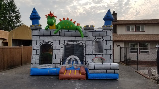 Dragon Bounce House Combo