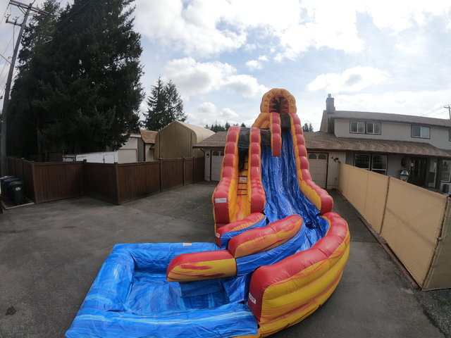 34' Fire and Ice Water Slide