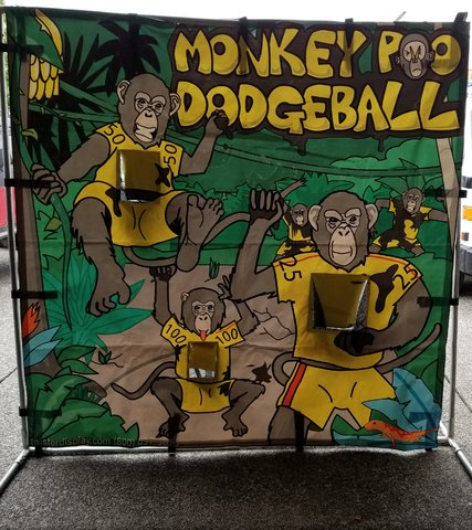 Monkey Poo Dodgeball