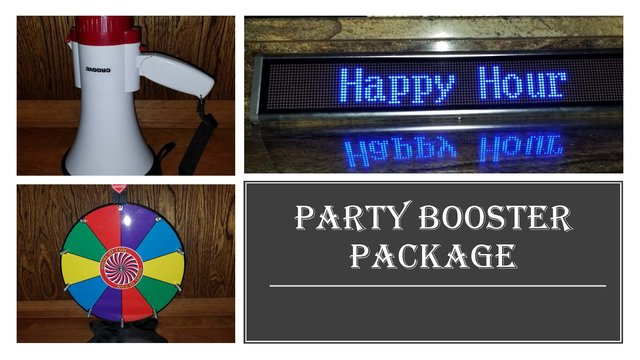 Party Booster Package
