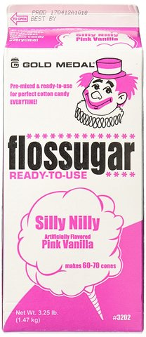 Cotton Candy - Silly Nilly (Pink Vanilla) serves 40