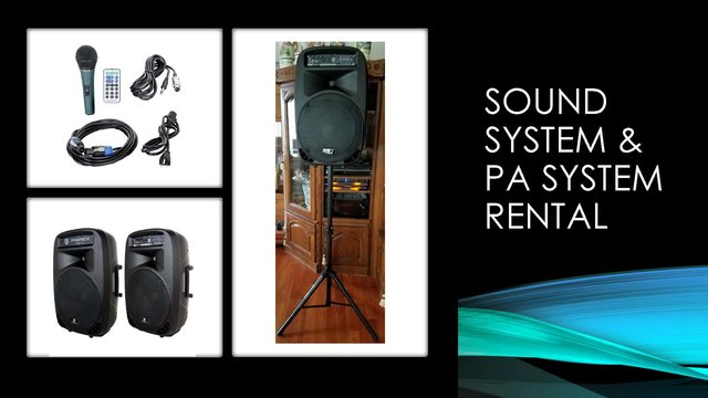 Sound System Package