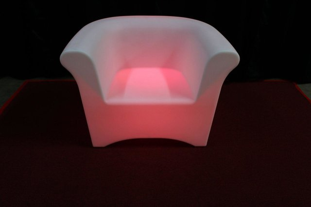 LED Light Changing Single Chair