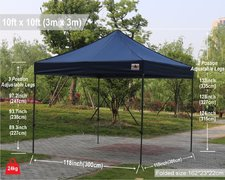 Pop Up Canopy - Blue