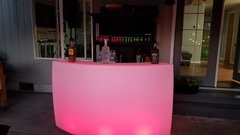 LED Light Changing Adult Party Furniture