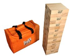 GIANT JENGA® Hardwood Game