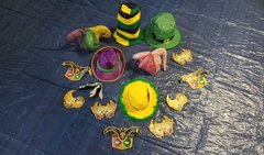 Mardi Gras Hat Collection #1