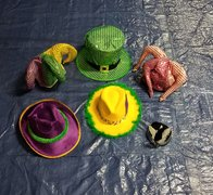 Mardi Gras Hat Collection #2